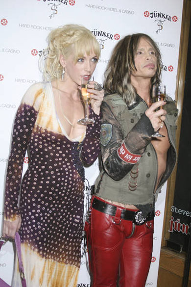 04/27/2007 - Erin Brady - Steven Tyler's Memorabilia Window Unveiling Featuring Clothing By Junker Designs at The Hard Rock Hotel and Casino Resort - The Hard Rock Hotel and Casino Resort - Las Vegas, NV - Keywords: Erin Brady Steven Tyler Memorabilia Window Unveiling Featuring Clothing By Junker Designs at The Hard Rock Hotel and Casino Resort Las Vegas -  -  - Photo Credit: Terry Thompson / Photorazzi - Contact (1-866-551-7827)